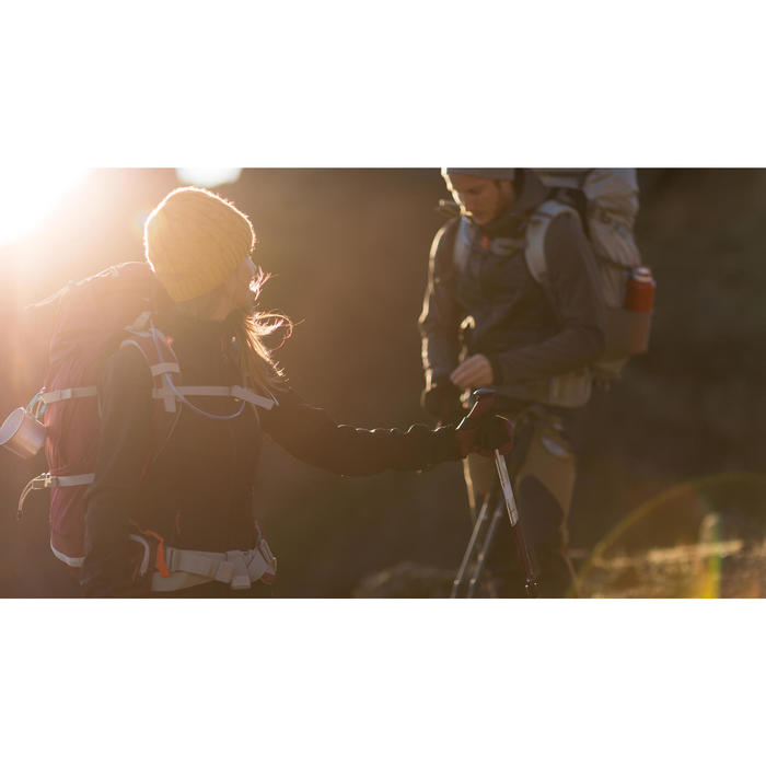 Veste trekking Windwarm 500 softshell femme - 1232887