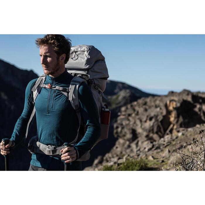 T-shirt manches longues trekking montagne TREK 900 wool homme - 1232889