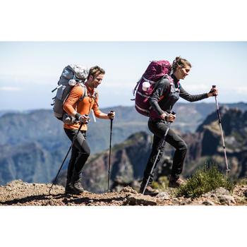 T- Shirt manches longues TREKKING montagne TECHWOOL 190 zip homme - 1232899