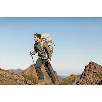 Pantalon modulable trekking montagne TREK 500 homme gris foncé - 1232900