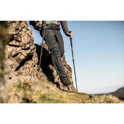 1 bâton randonnée montagne F500 Antichoc gris