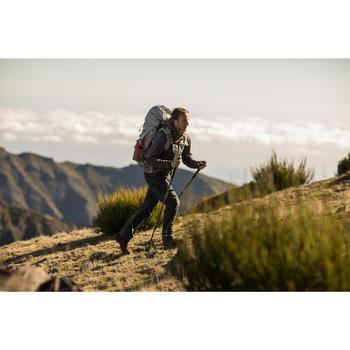 Pantalon modulable trekking montagne TREK 500 homme gris foncé - 1232909