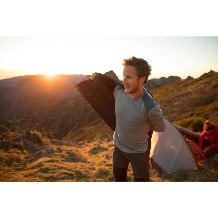 T- Shirt manches longues TREKKING montagne TECHWOOL 190 homme - 1232916