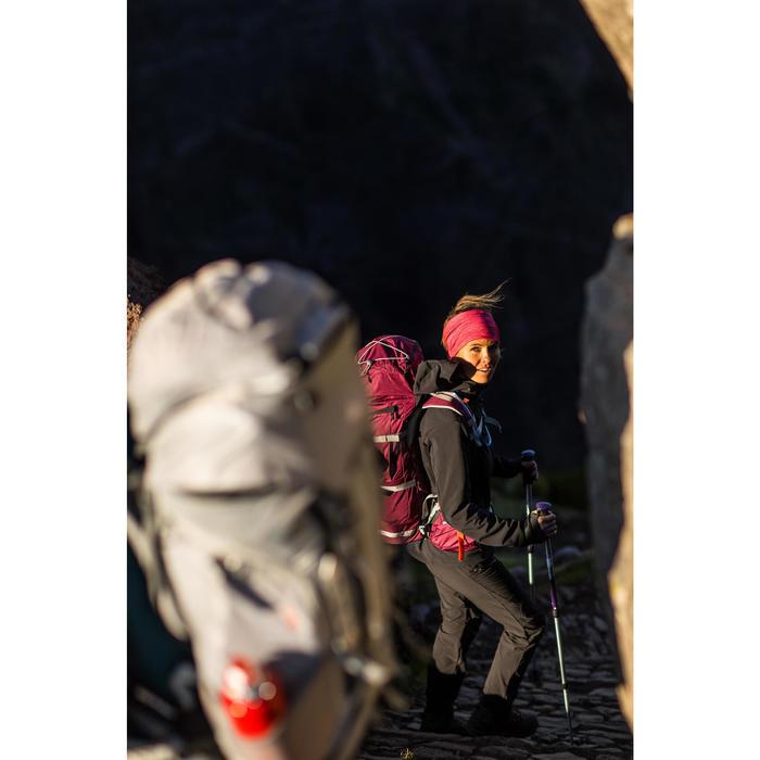 Veste trekking Windwarm 500 softshell femme - 1232920