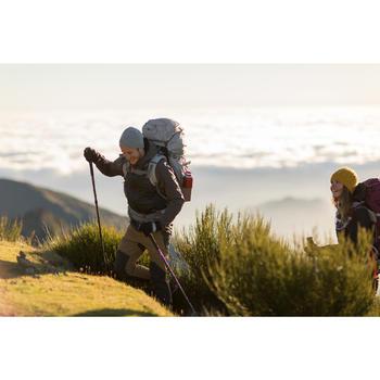 成人登山健行手套Trek 500-黑色