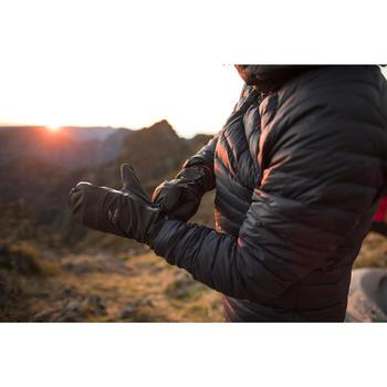 Sur-gants trekking montagne TREK 500 noir