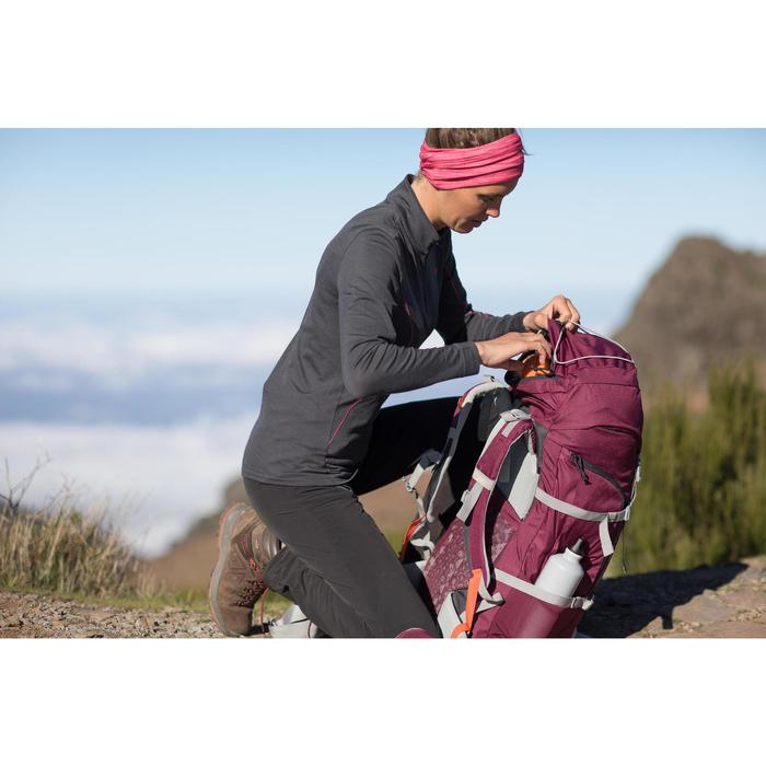 Mochila de Montaña y Trekking Forclaz Easyfit 50 litros Mujer Violeta