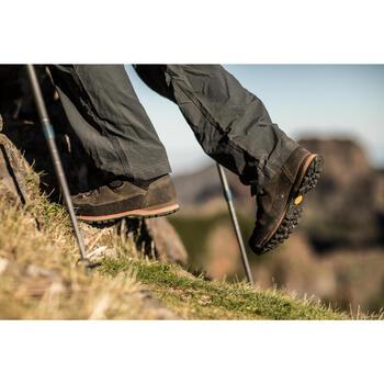 Pantalon modulable trekking montagne TREK 500 homme gris foncé - 1232944