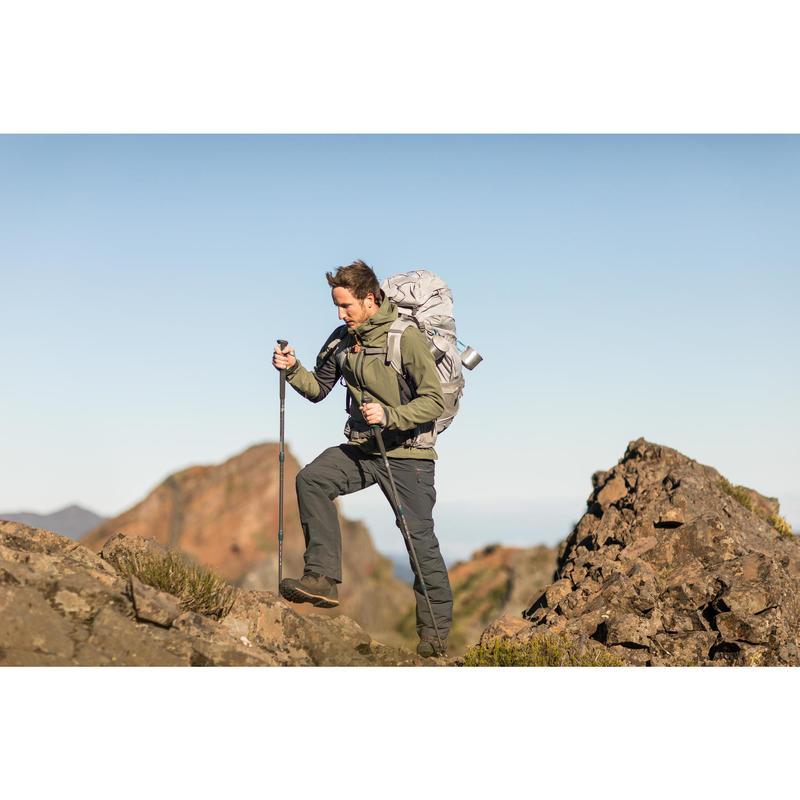 0e4add4125260 Softshell Homme Quechua Windwarm Bleu Montagne Trek900 Trekking Veste Uq1w77