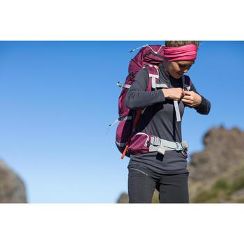 T-Shirt manches longues zip trekking Techwool 190 laine femme - 1232951