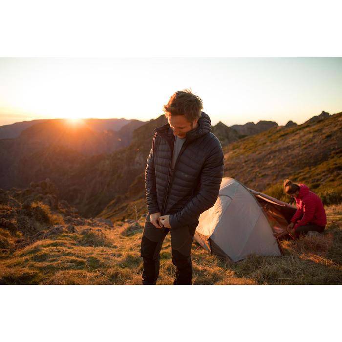 Men's Mountain Trekking Down Jacket Trek 100 - navy