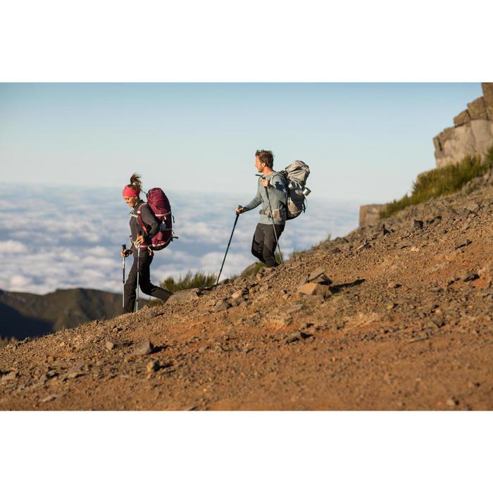 T- Shirt manches longues TREKKING montagne TECHWOOL 190 homme - 1232969