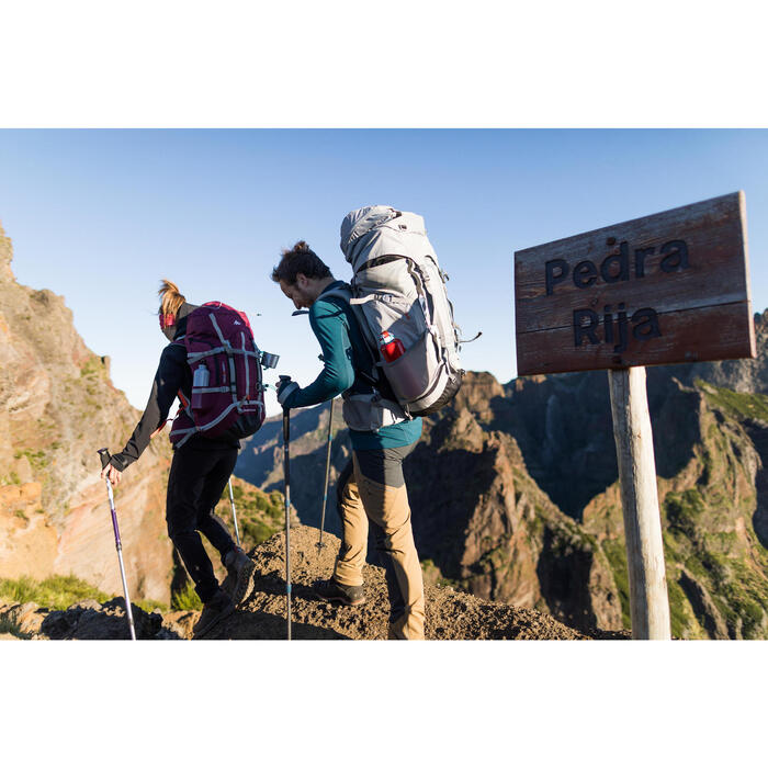 T-shirt manches longues trekking montagne TREK 900 wool homme - 1232976