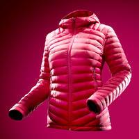 """Sieviešu kalnu tūrisma dūnu jaka """"Trek 100"""", rozā"""