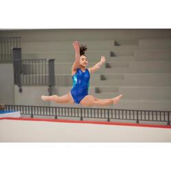 Maillot sin mangas gimnasia femenina (GAF) Azul 520