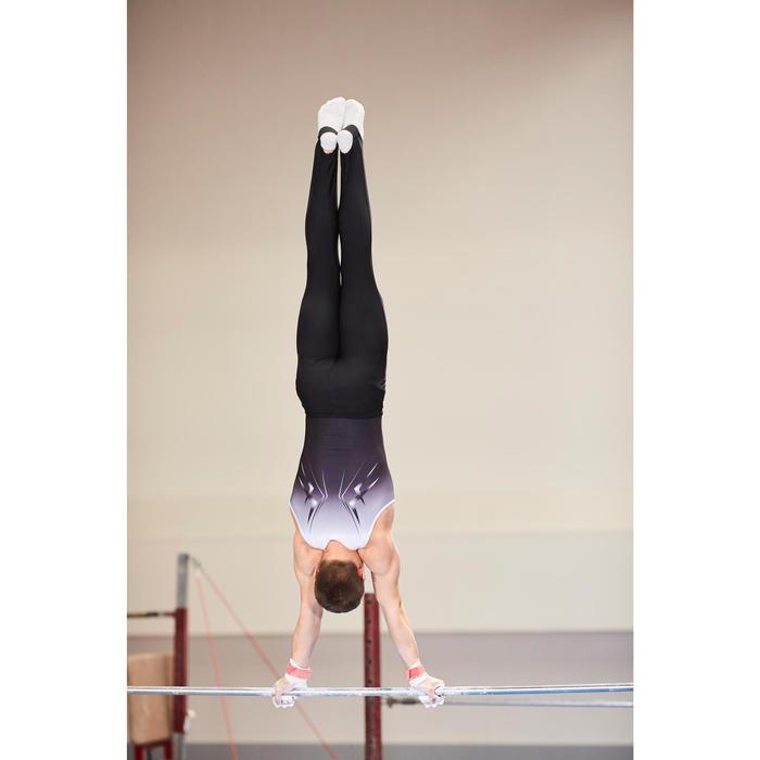 Leotard Gymnastique Artistique Masculine (GAM) Garçon Noir