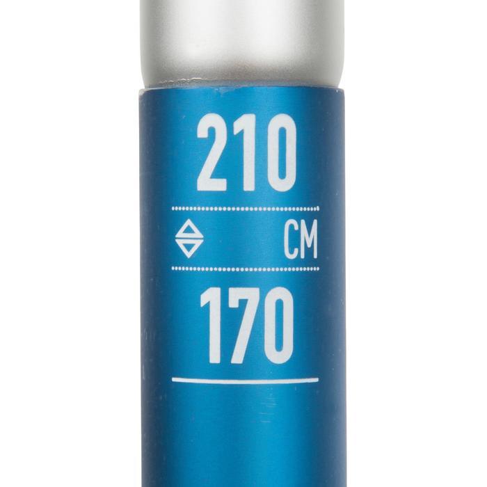 Demonteerbare en verstelbare sup-peddel 100 170-210 cm blauw