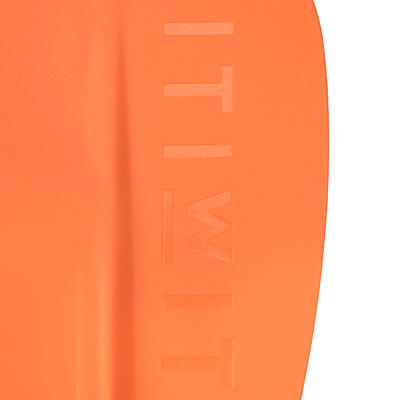 لوح التجديف وقوفًا 100 170-210 سم - برتقالي
