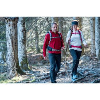 Polaire de randonnée montagne femme Forclaz 50 bleu caraïbes