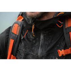 Wanderjacke Bergwandern MH500 wasserdicht Herren schwarz