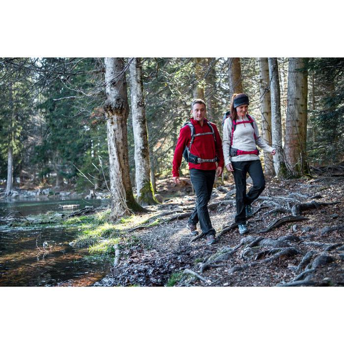 Pantalón de senderismo en Montaña Forclaz 500 Mujer Negro