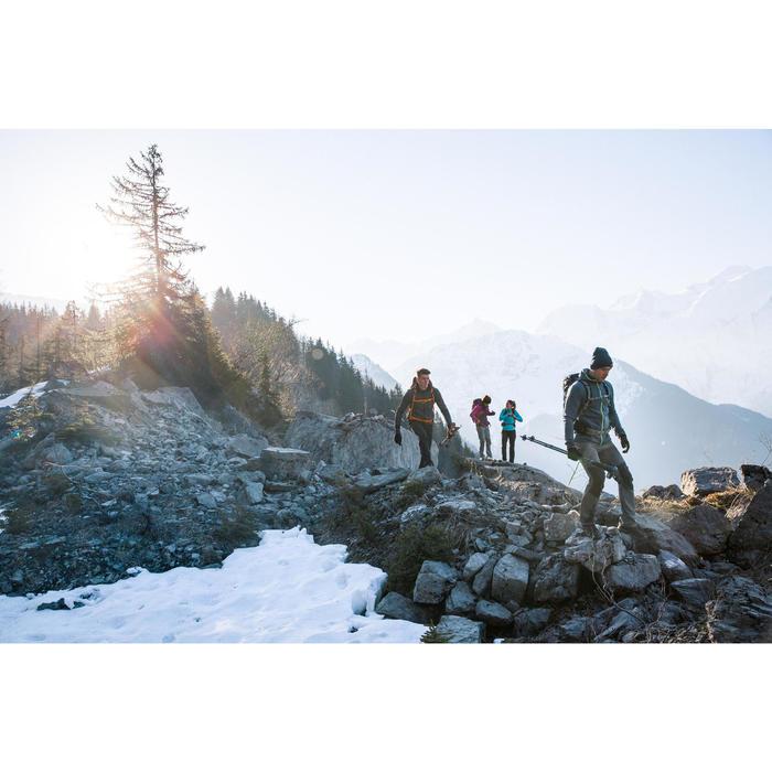 Fleecejacke Bergwandern MH920 Stretch Herren türkis