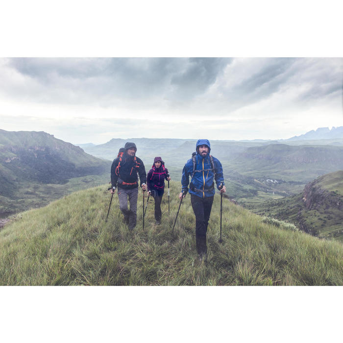 Veste de pluie imperméable de randonnée montagne MH500 Femme - 1233447
