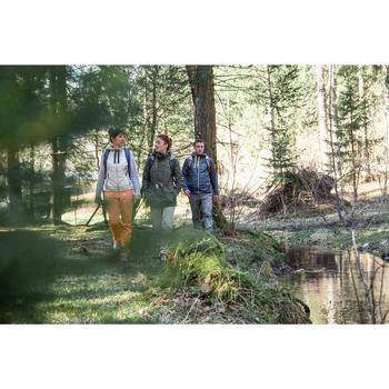 Wanderjacke Naturwandern NH500 Protect Damen beige