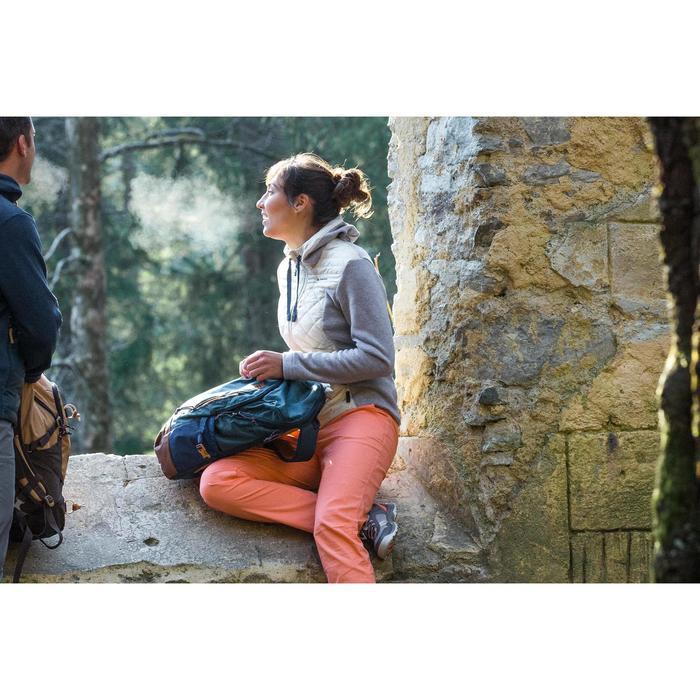 Mochila de Montaña y Senderismo Quechua NH500 20 Litros Gris