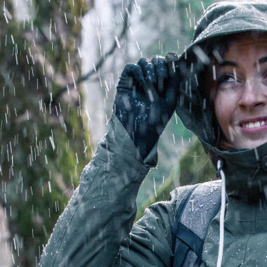 How do you measure the waterproofing of a hiking jacket?