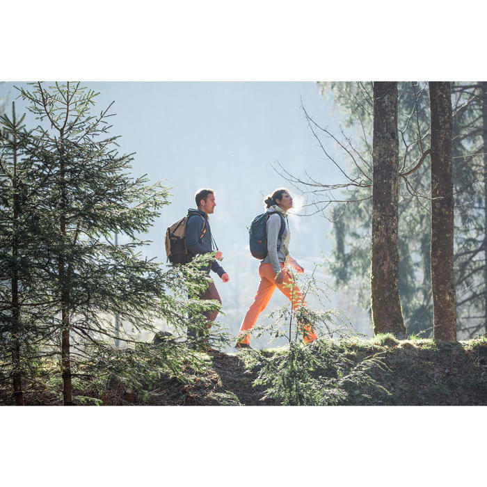 Rugzak wandelen in de natuur NH500 30 l kaki