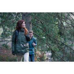 Wanderjacke Naturwandern NH500 Damen beige