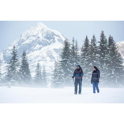 Heren wandeljas voor de sneeuw SH100 X-warm zwart