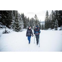 Winterschuhe Winterwandern SH100 Warm Mid Herren blau