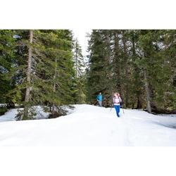 Langarmshirt Winterwandern SH100 Warm Herren grau