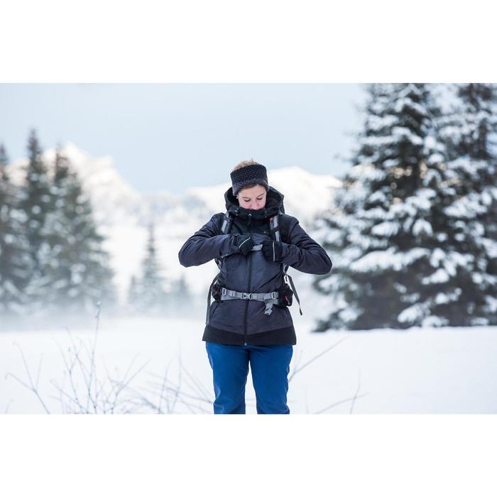 Wanderjacke Winterwandern SH100 X-Warm Damen blau