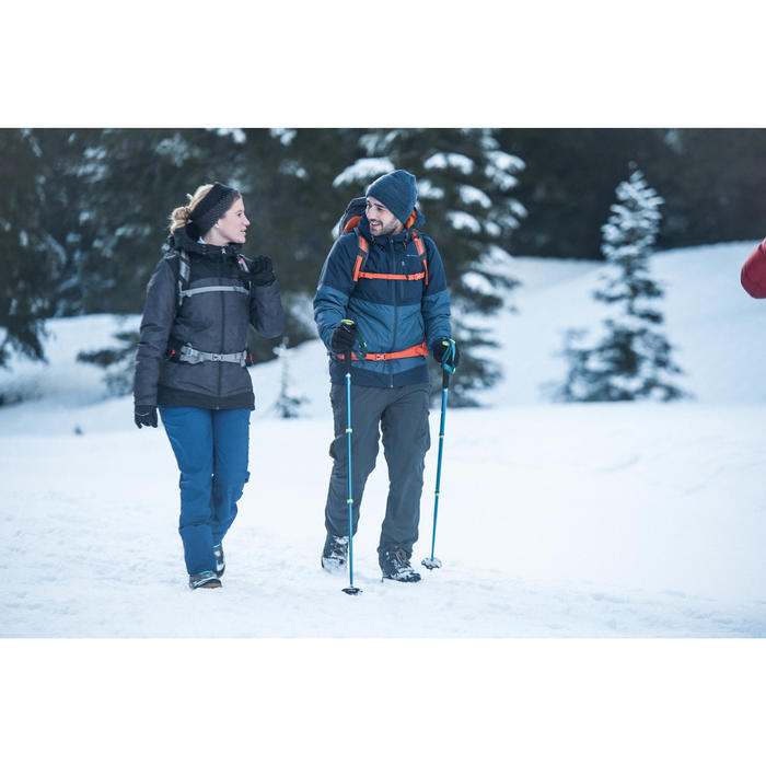 Botas de senderismo nieve hombre SH100 warm mid negro Quechua ... 7da20fc1daa26