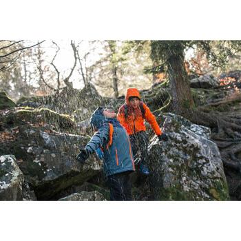 Veste chaude imperméable de randonnée Fille Hike 900 3en1 - 1233547