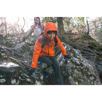 Veste chaude imperméable de randonnée Fille Hike 900 3en1 - 1233550