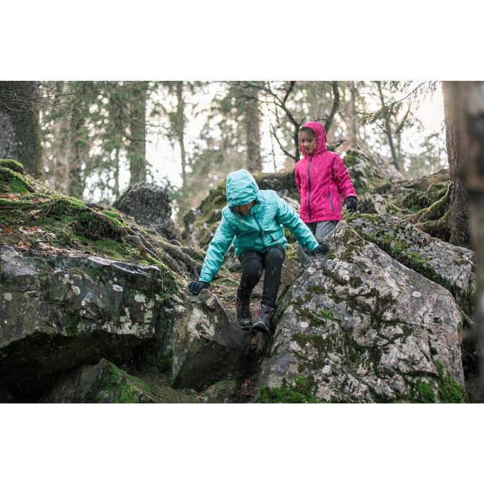 Kinderjas voor sneeuwwandelen SH100 WARM grijs