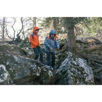 Veste chaude imperméable de randonnée Fille Hike 900 3en1 - 1233565