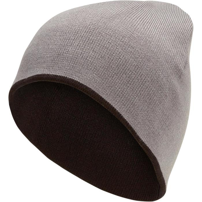 滑雪雙面帽 - 黑色/灰色