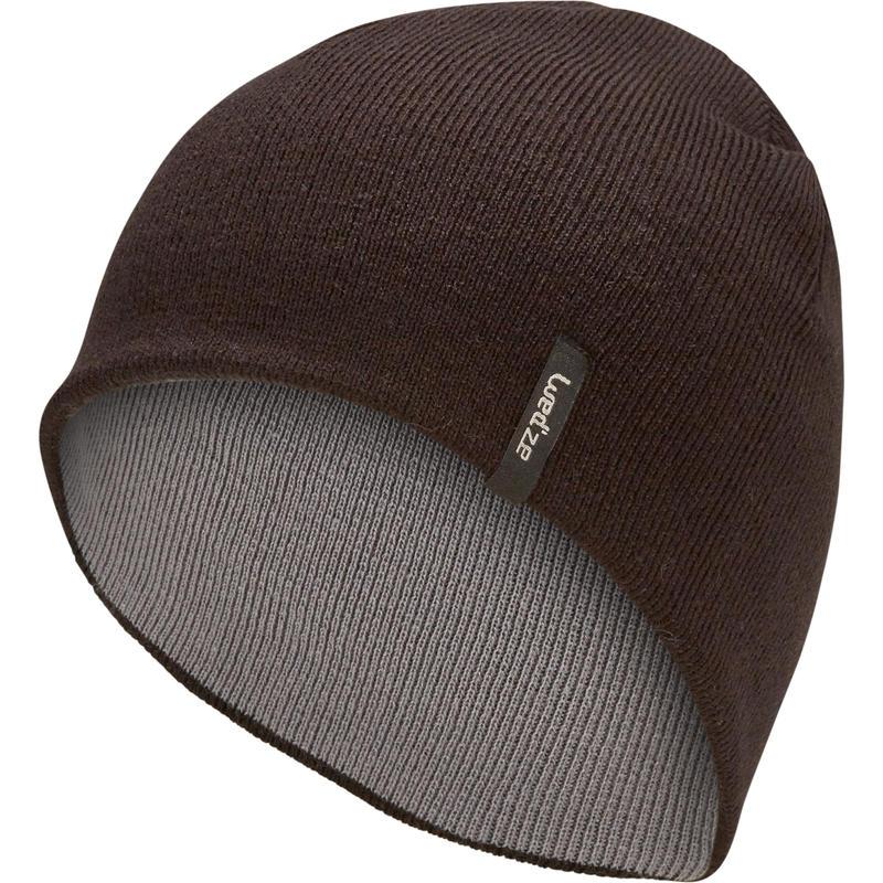 SKIING REVERSE HAT - BLACK GREY