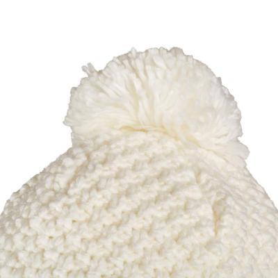 ADULT TIMELESS SKIING PERUVIAN HAT - WHITE
