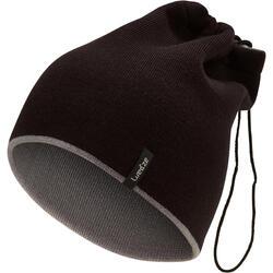 Adult Ski Reverse Neck Warmer - Black Grey