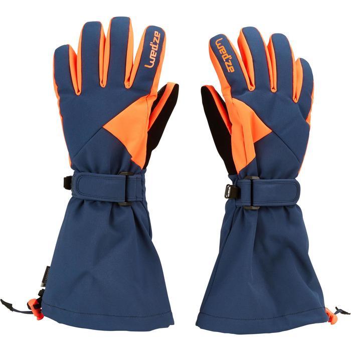 wed 39 ze gants de ski enfant gants slide 500 decathlon. Black Bedroom Furniture Sets. Home Design Ideas