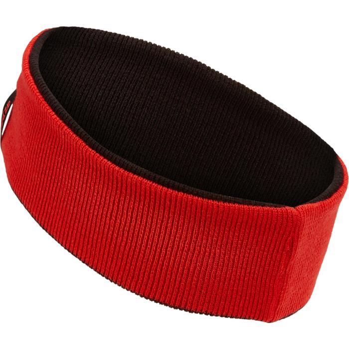 Stirnband wendbar Kinder schwarz/rot