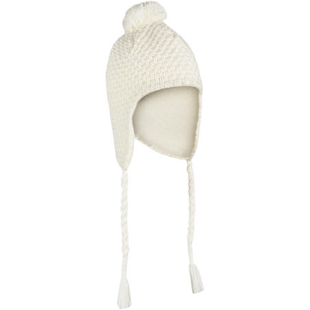ADULT TIMELESS SKIING PERUVIAN HAT - WHITE
