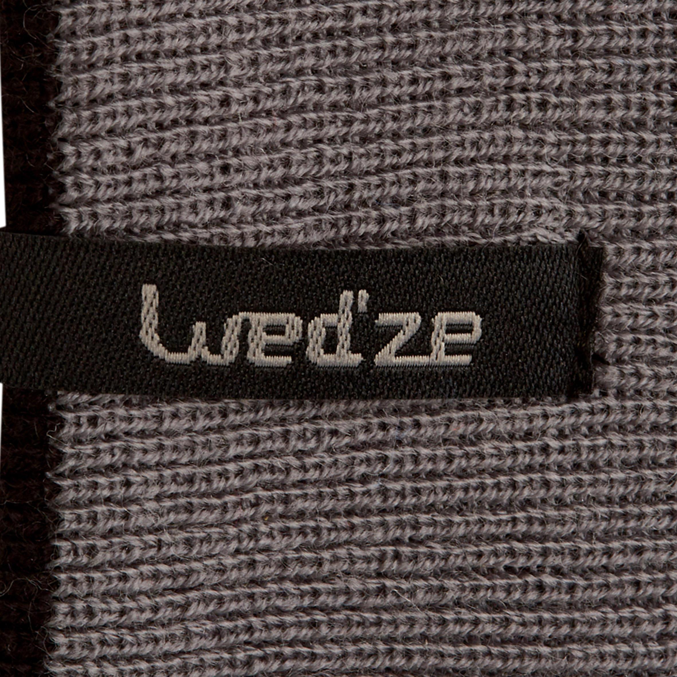 BLACK//GREY Wedze REVERSE SKI HEADBAND