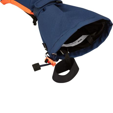 gants de ski enfant gants slide 500 petrole wedze. Black Bedroom Furniture Sets. Home Design Ideas